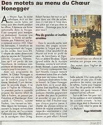 Concert de motets - Arnaud Juliot