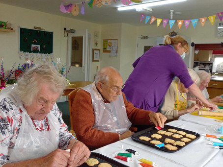 Preparing for Easter at Legh House