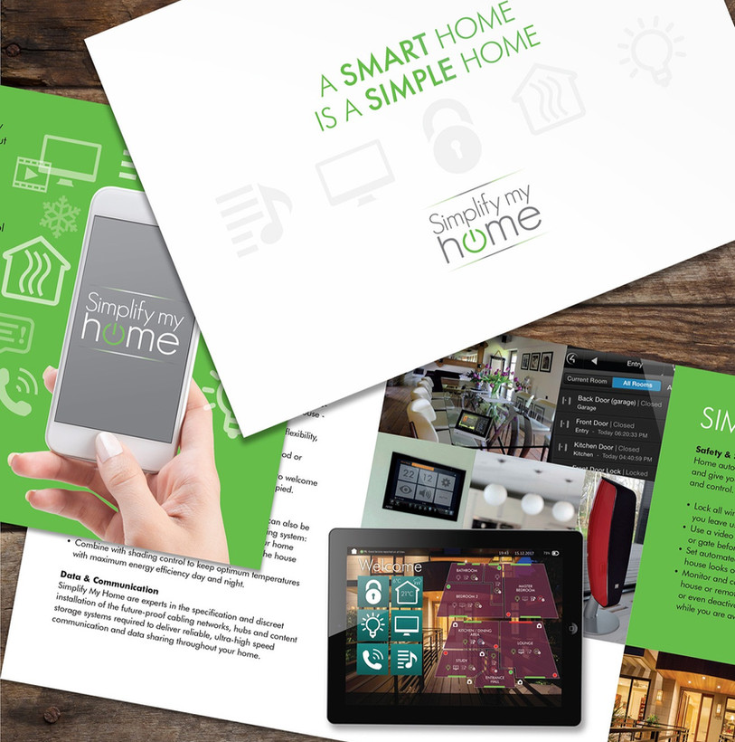Simplify My Home Brochure