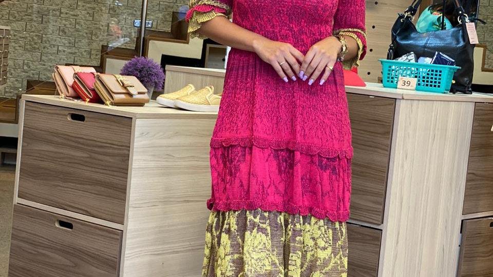 Vestido Tricot camadas Rani