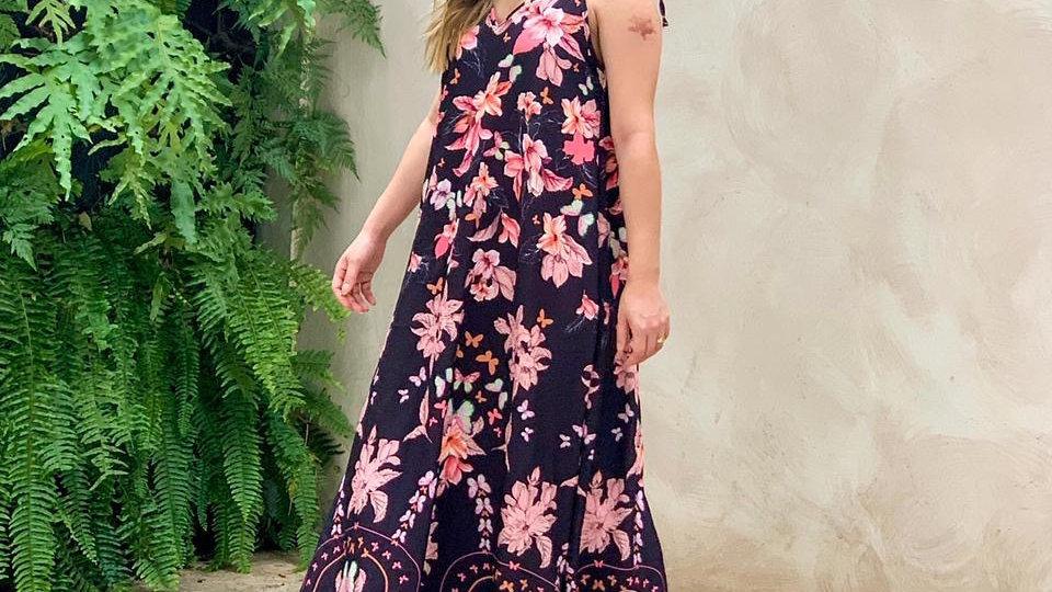 Vestido floresça