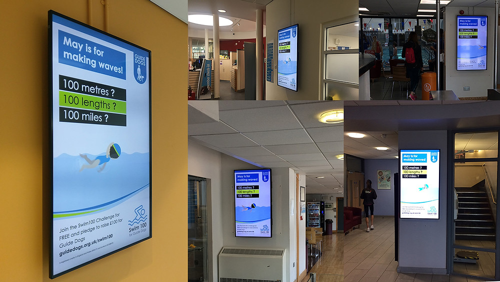 Whistle Videos Animation on Screens around the UK