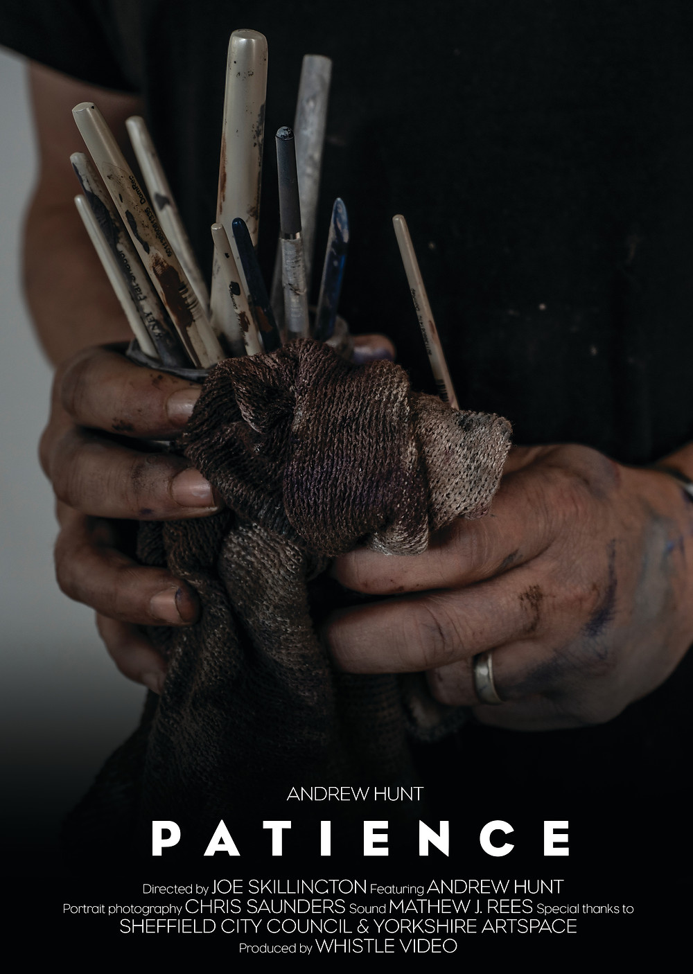 'Patience Film Poster' Video Production Sheffield