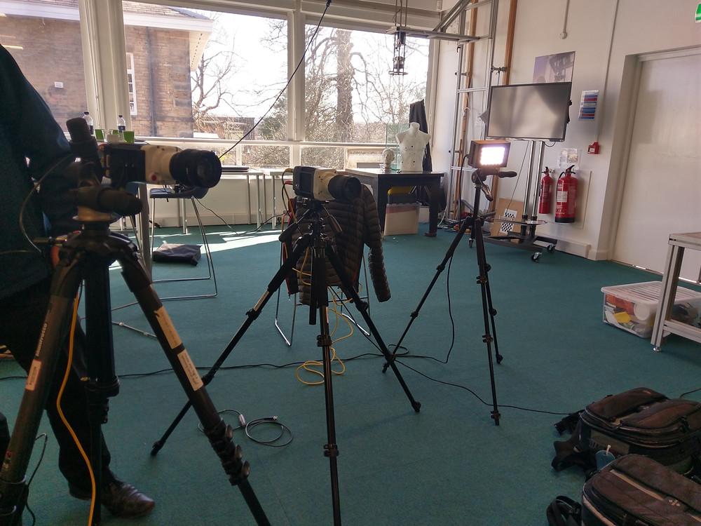 Two Phantom High Speed Cameras