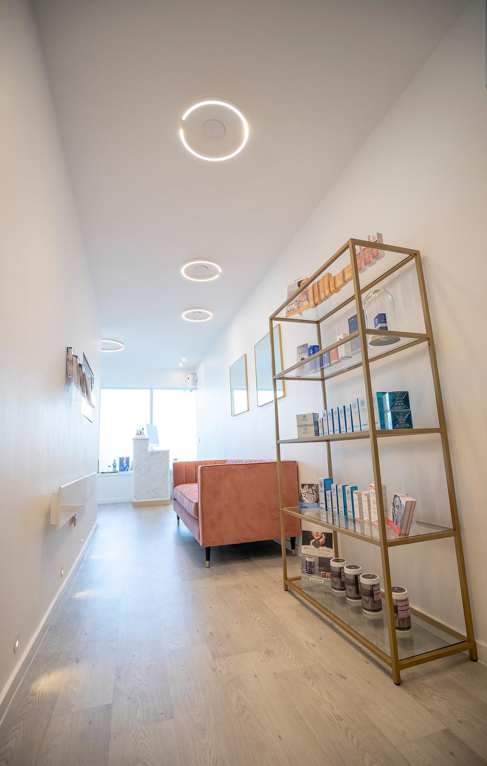 Main Corridor - True Face Aesthetics Clinic