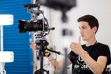 Joe Skillington video producton shot