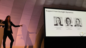Star Davis presents OCULIGHT collaboration with WeWork at PLDC 2019!