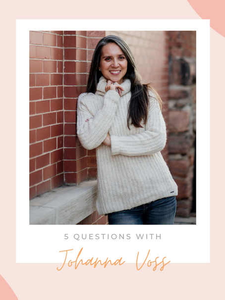 5 Questions with Talent Manager Johanna Voss