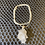 Thumbnail: Clear Quartz Nodule 925 Silver Necklace #3