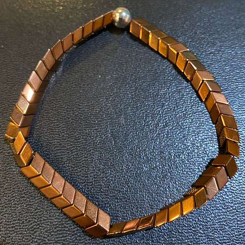 Copper Hematite Healing Bracelet