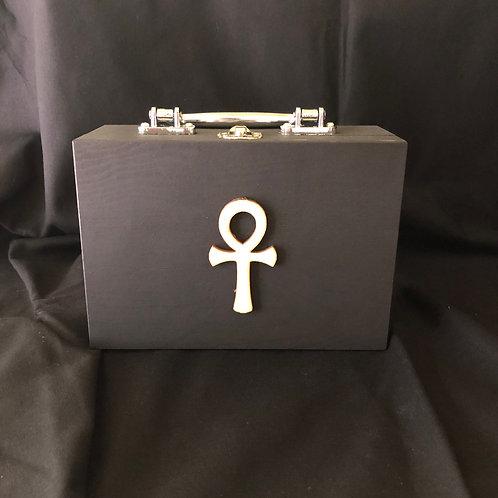 Black Ankh Clutchbox (Small)