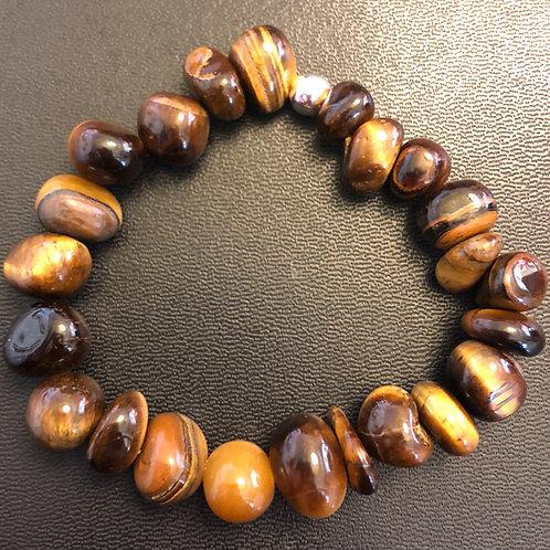 Tiger Eye Stone Healing Bracelet