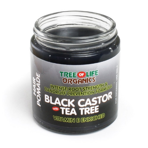 Black Castor Tea Tree Pomade