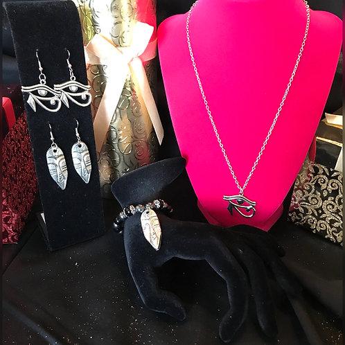 Third Eye & Warrior Jewelry Gift Set