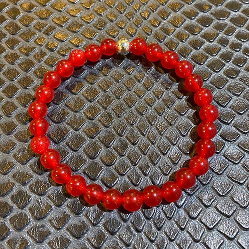 Red Jade Healing Bracelet