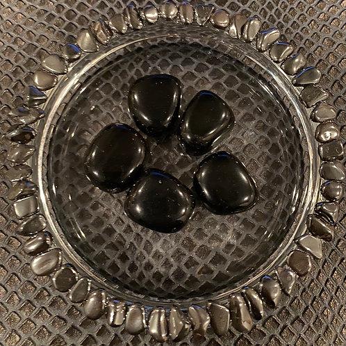 Tumbled Obsidian