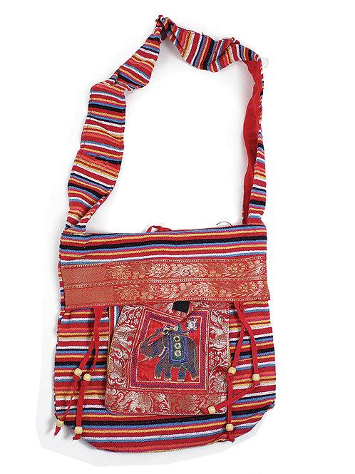 Red Royal Elephant Bag