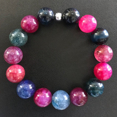 Agate 12mm Bracelet