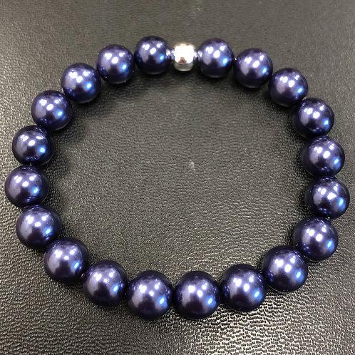 Purple River Shell Healing Bracelet