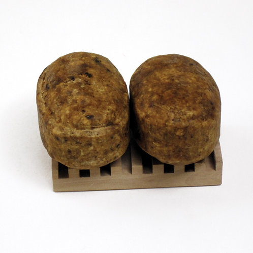 Natural Black Soap Bars (Two Pack)