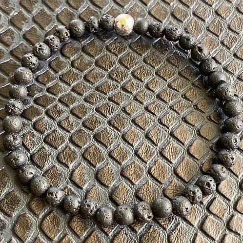 4mm Lava Stone Healing Bracelet