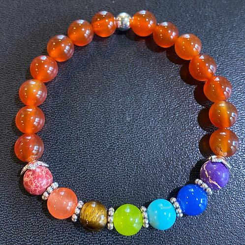 Carnelian Chakra Healing Bracelet