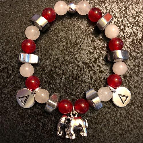 Delta Sigma Theta Healing Bracelet