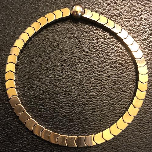 Gold Hematite Healing Bracelet