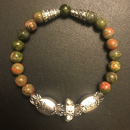 Mrs Wifey Natural Stones Bracelet