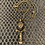 Thumbnail: Genuine Brass Ashanti Fertility Doll Necklace