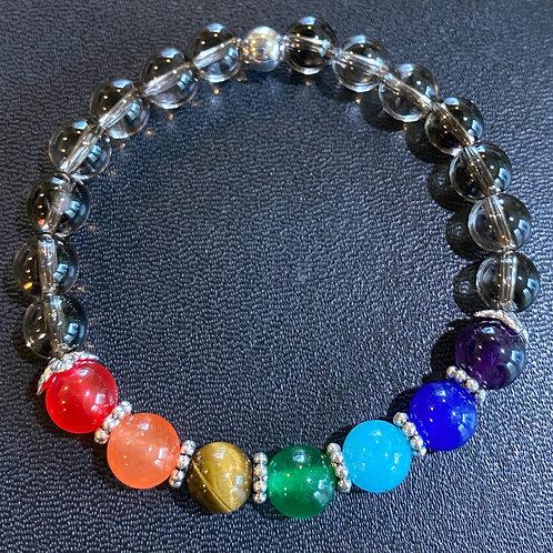Smoky Quartz Chakra Healing Bracelet