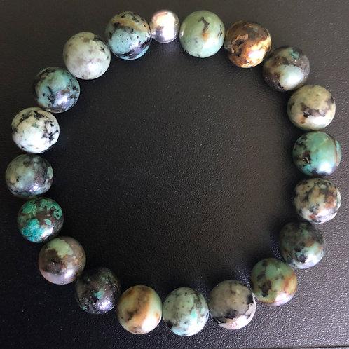 African Turquoise Healing Bracelet