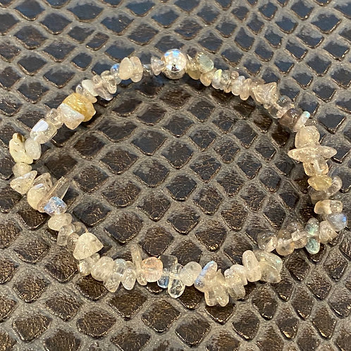 Labradorite Chip Healing Bracelet