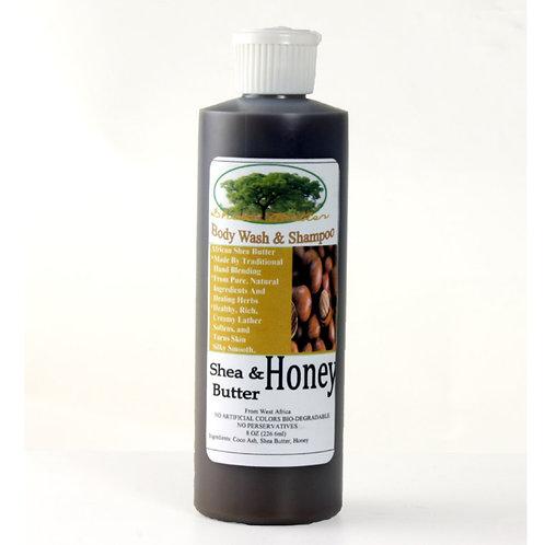 Shea Butter Honey Liquid Soap