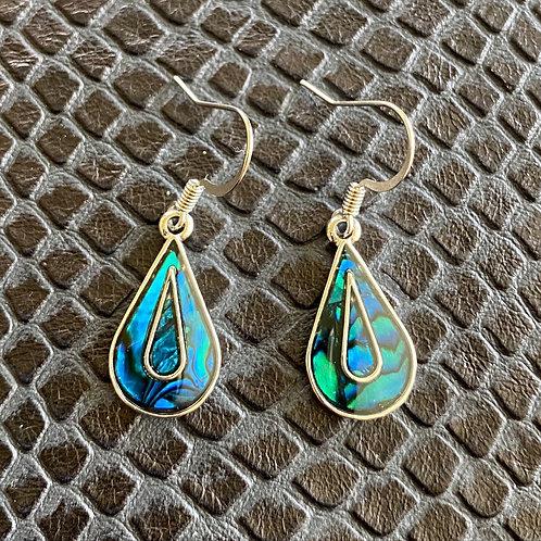 Teardrop Shell Earrings