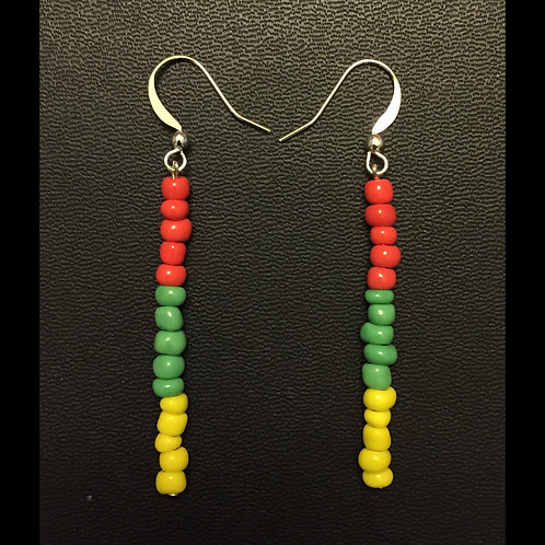 Ethiopia Beaded Earrings