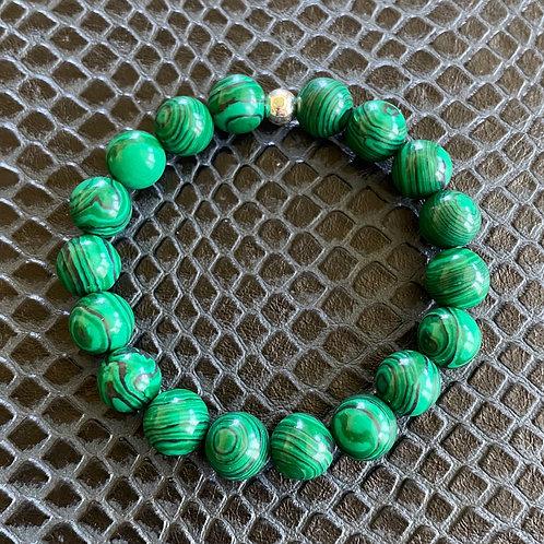 10mm Malachite Healing Bracelet
