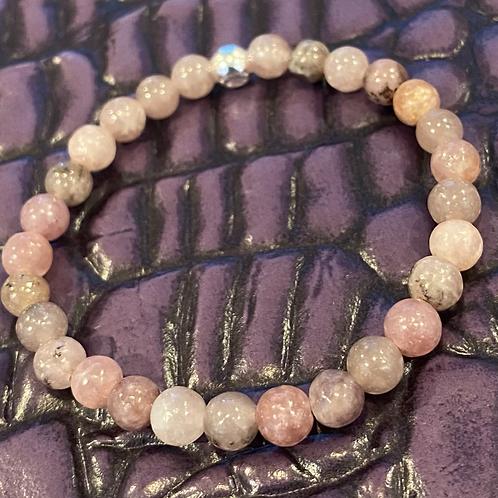 Light Purple Lepidolite Healing Bracelet