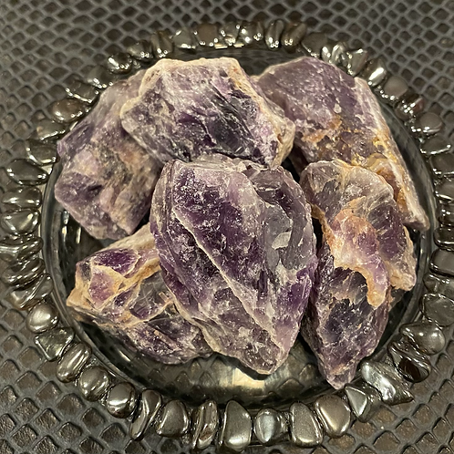 Medium Raw Amethyst