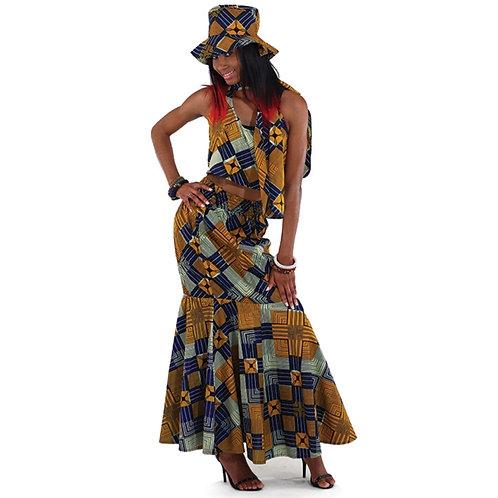 African Skirt Set 4