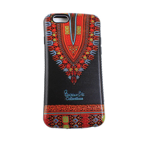 Black Dashiki Print IPhone 6 Case