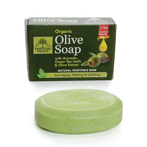 Organic Anti-Aging Olive Soap