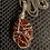 Thumbnail: Carnelian Wire Wrapped Necklace