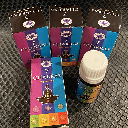 7 Chakras Fragrance Oil