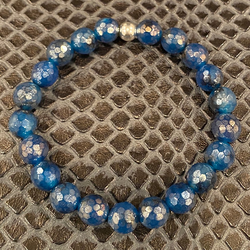 Faceted Quartz Healing Bracelet
