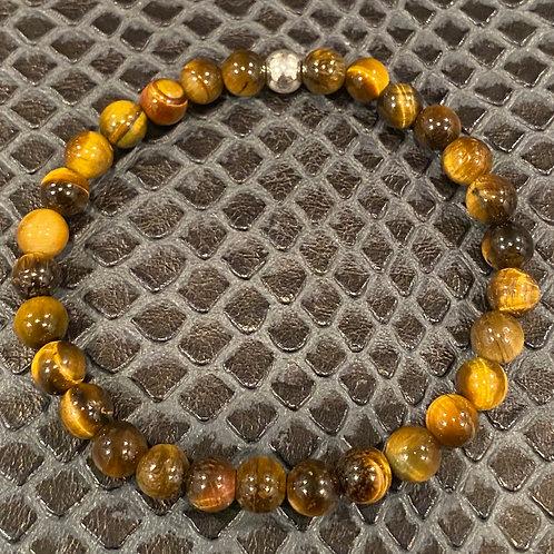 Yellow Tiger Eye Healing Bracelet