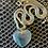Thumbnail: Fluorite Heart Necklace