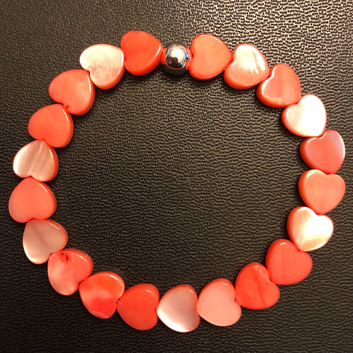 Coral River Shell Healing Bracelet