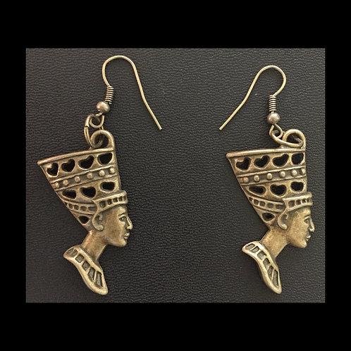 Queen Nefertiti Earrings