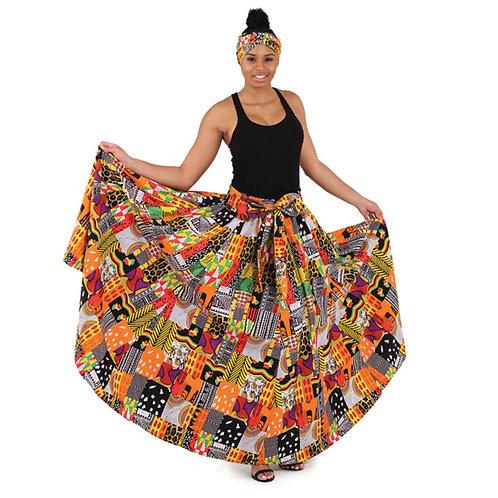 Cultural Admiration Skirt